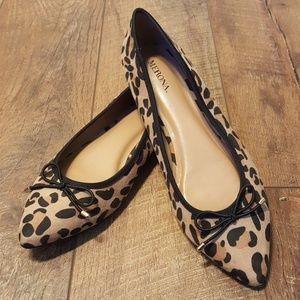 Merona Leopard Print Flats